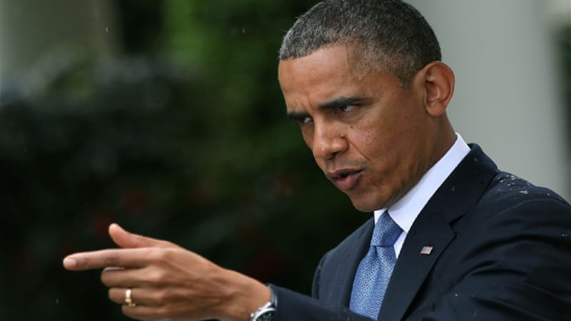 Republicans have accused President Obama of playing a role in a slew of recent 'scandals' [Getty Images]