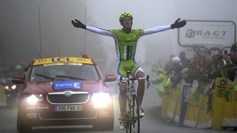 The final stage was won by Italy's Alessandro De Marchi after a 24-man breakaway [AFP]