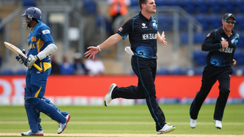 Left-arm seamer Mitchell McClenaghan claimed four wickets as Sri Lanka were out for 138 [GETTY]