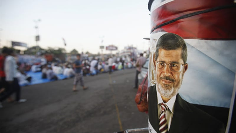 Ousted president Mohamed Morsi is believed to be held at an undisclosed military facility in Cairo [Reuters]