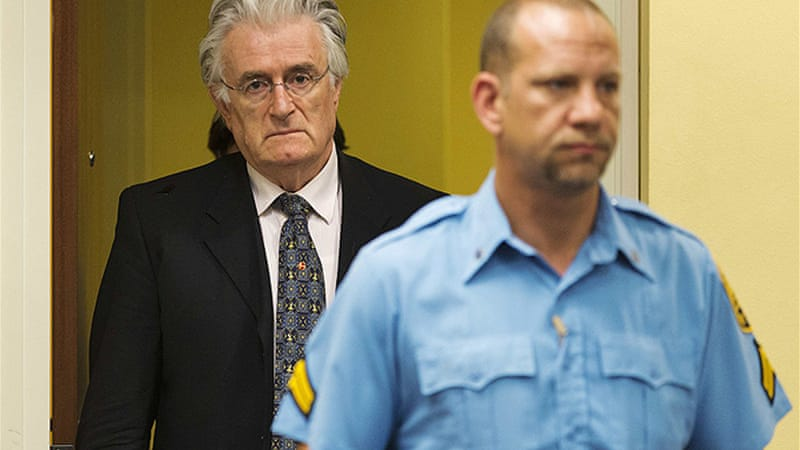Karadzic now faces 11 charges, including two counts of genocide as well as accusations of war crimes [Reuters]