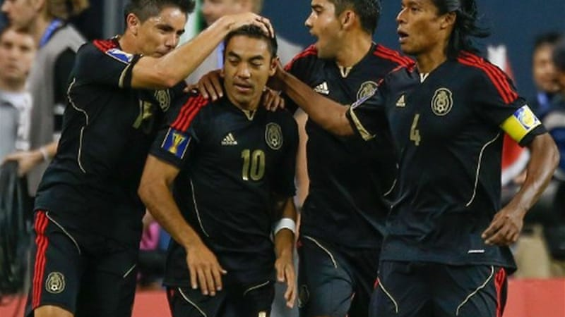 Marco Fabian scored a penalty in the second half against Canada to put Mexico back into Gold Cup contention [AFP]