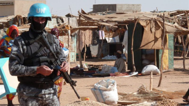 The UN-African Union mission in Darfur, UNAMID, has not identified the group behind the latest attack [AFP]