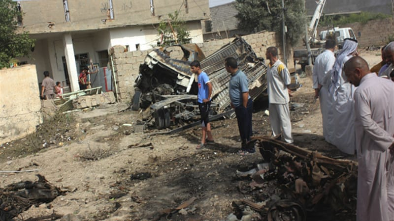 Deadly blasts killed at least 21 people in Iraq. [Reuters]