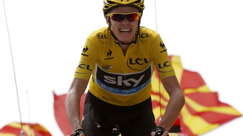 Froome's performances in this year's Tour have aroused suspicion from fans and journalists [AFP]
