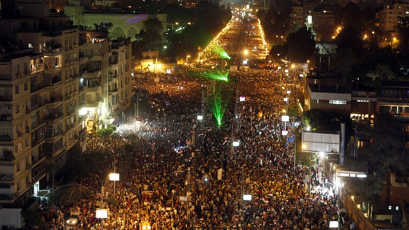 June 30 marked the largest protest in Egypt's history with demonstrators demanding Morsi resign [Reuters]