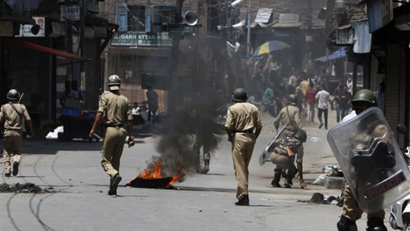 About 128 people, including 44 security personnel, have been killed this year in attacks in Indian Kashmir [EPA]