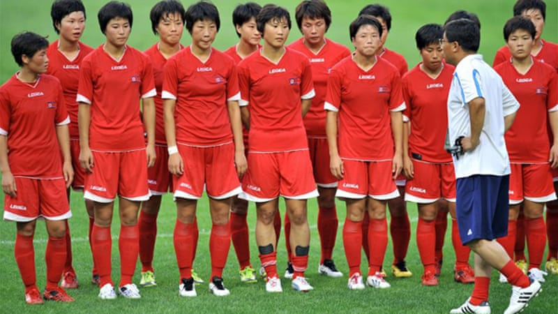 Ninth-ranked North Korea beat South Korea for the 10th time in their last 10 meetings [AFP]