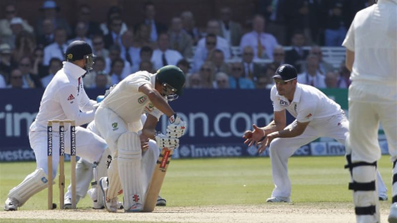 Victory saw Ashes-holders England go 2-0 up in the five-match series  [AFP]