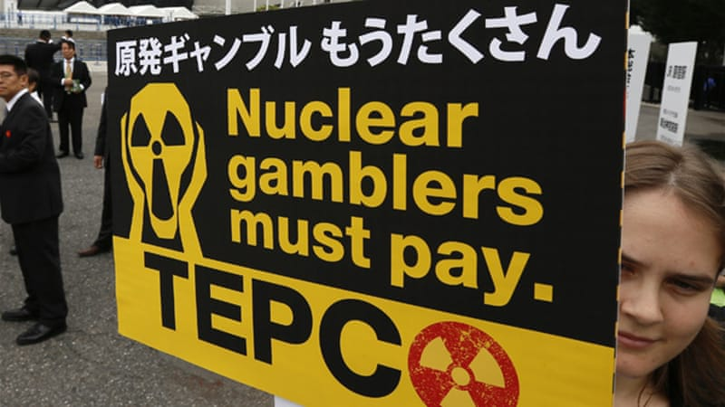 Tepco has come under heavy criticism for its handling of the disaster [EPA]