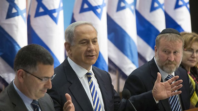 Israeli politicians are divided on a referendum, seen by some as an attempt by hard-liners to torpedo any deal [AFP]