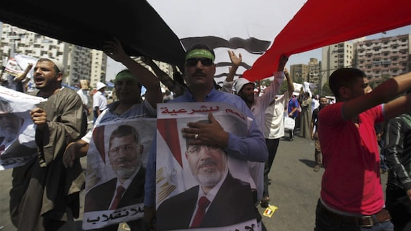 Morsi's supporters had been planning their own mass rallies for more than a week [Reuters]