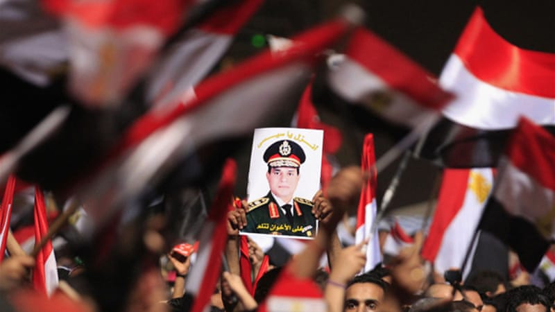 """In spite of the move from Nasser-era Arab nationalism to Sisi-era Egyptian nationalism, there is change in the statist character of the new nationalism in Egypt,"" writes Mamdani [Reuters]"