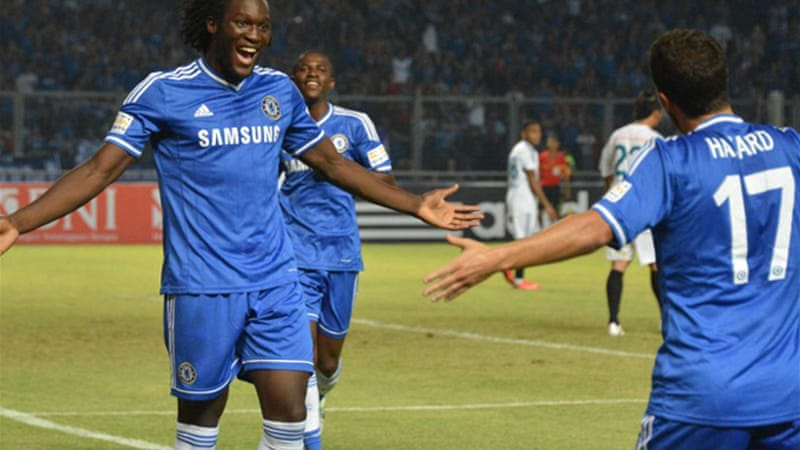 Lukaku has scored four goals in Chelsea's three-game Asian tour [AFP]