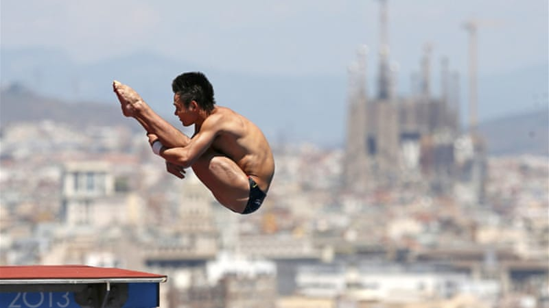Qui's victory means China finish the diving competition with nine out of a possible 10 golds [Reuters]