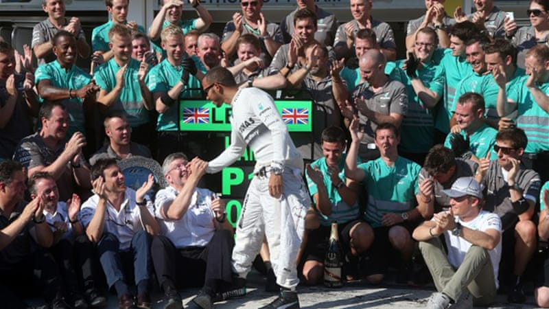 Mercedes go into the August break in second place overall after winning three of the last five races [AFP]