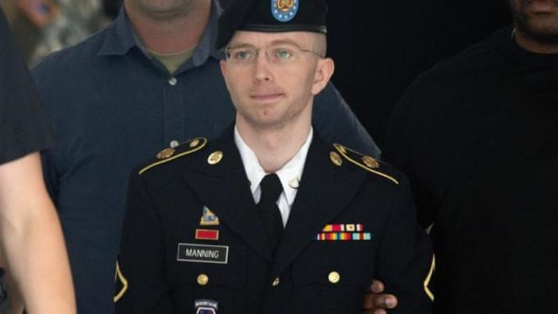 Manning faces counts including computer fraud and theft charges, and aiding the enemy [AFP]