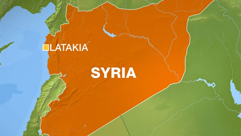 Explosions rocked several army ammunition depots in the western Syrian province of Latakia  [Al Jazeera]