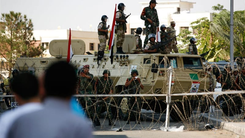 The AU has urged Egypt to return to constitutional order [Al Jazeera/Matthew Cassel]