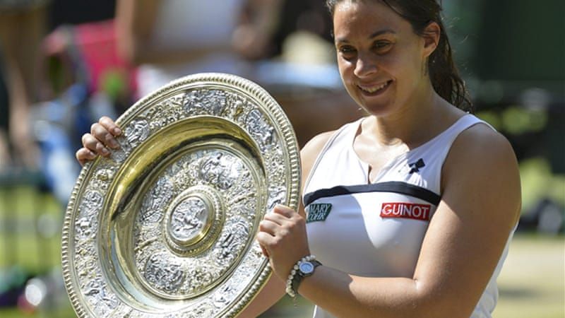 Bartoli clinched her All England title with victory over Sabine Lisicki [Reuters]
