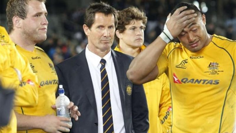 McKenzie replaced Robbie Deans after the Wallabies fell to series defeat against the Lions last month [Reuters]