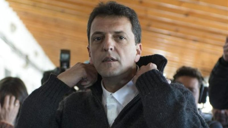 Sergio Massa, the mayor of the Buenos Aires town of Tigre, is seen as a possible presidential contender [AFP]