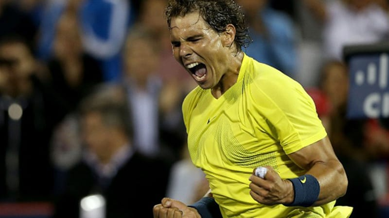 Nadal, who will face home favourite Milos Raonic, is aiming for his eighth title of the season [AFP]