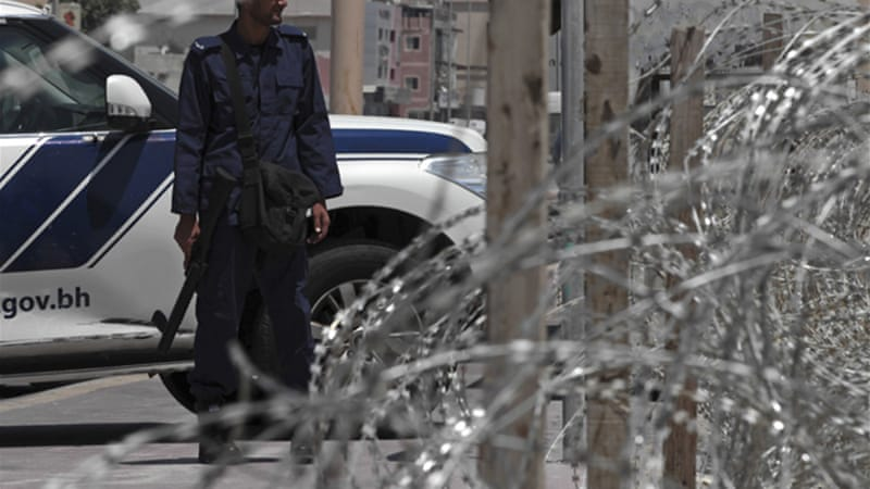 Police have used razor wire to block off the entrances to some villages, activists said [AP]