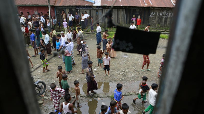 The arrest of the activist coincides with UN human right envoy's visit in Rakhine state [Reuters]