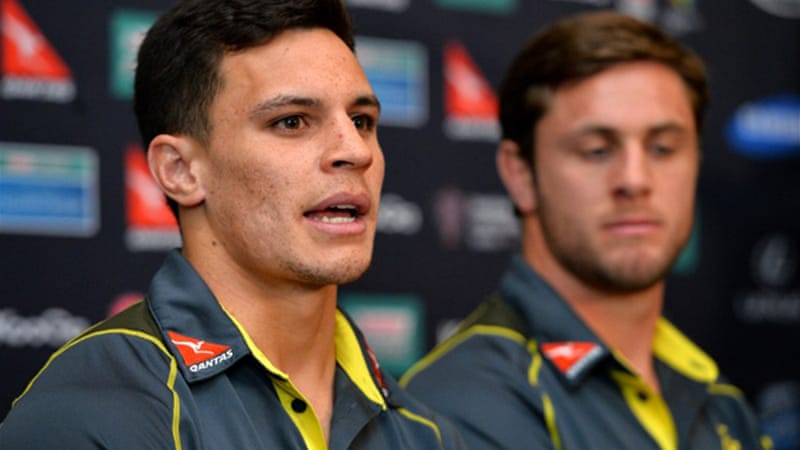 Toomua was given the only new Test cap starting for Australia, joining 10 ACT Brumbies in the squad [AFP]