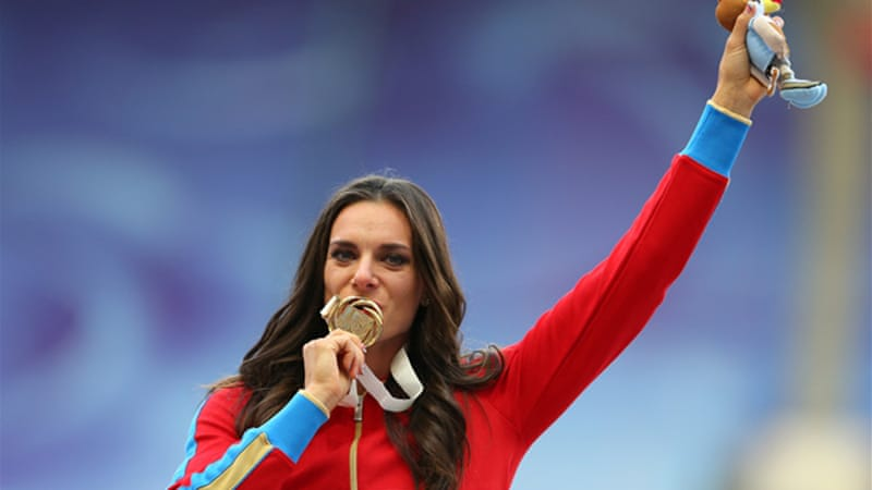 Isinbayeva is one of several Russian athletes caught up in discussion surrounding new legislation [GALLO/GETTY]