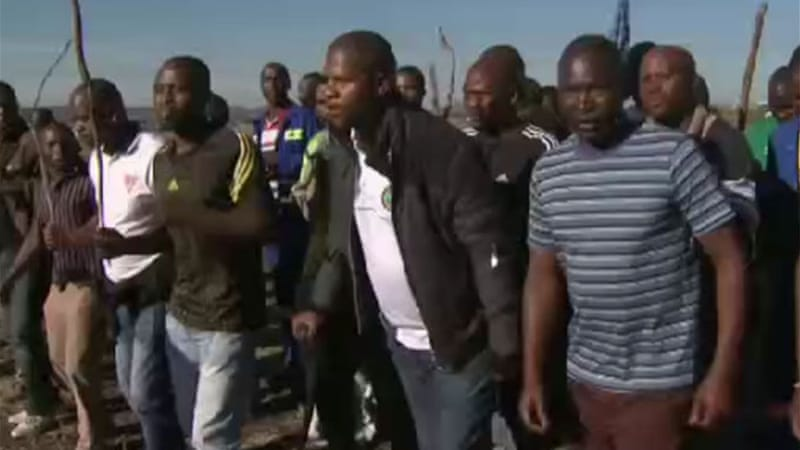 Marikana has been the scene of deadly violence between rival unions since [File: Al Jazeera]