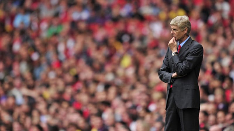 Arsenal manager Arsene Wenger was booed after his team's opening 3-1 loss to Aston Villa on Saturday [AFP]