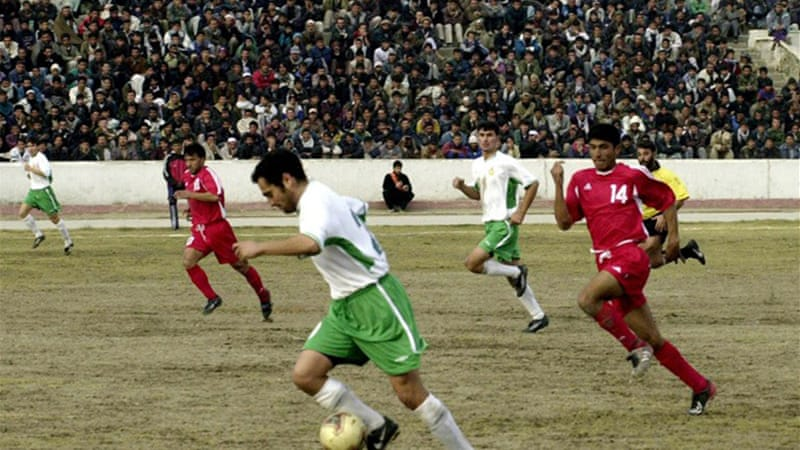 Afghanistan, ranked 139th in the world, last played at home in 2003 against Turkmenistan [AFP]