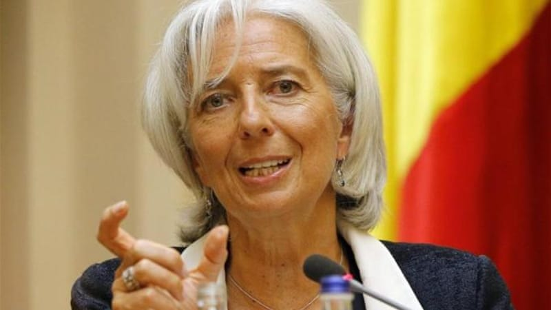 Lagarde said banks must develop strategies for scaling back their efforts to keep borrowing rates low [File: EPA]
