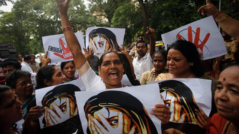 The Mumbai gangrape case has prompted outrage and dismay throughout the country [Reuters]