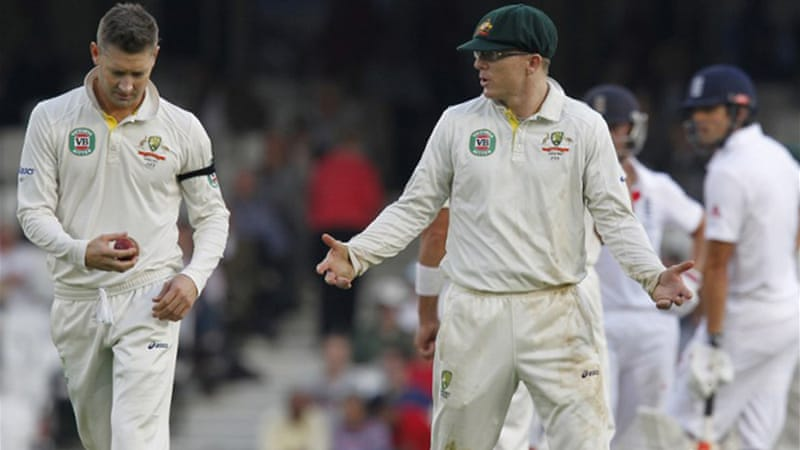 The draw means Australia have failed to win a single Test in an Ashes series for the first time since 1977 [AFP]