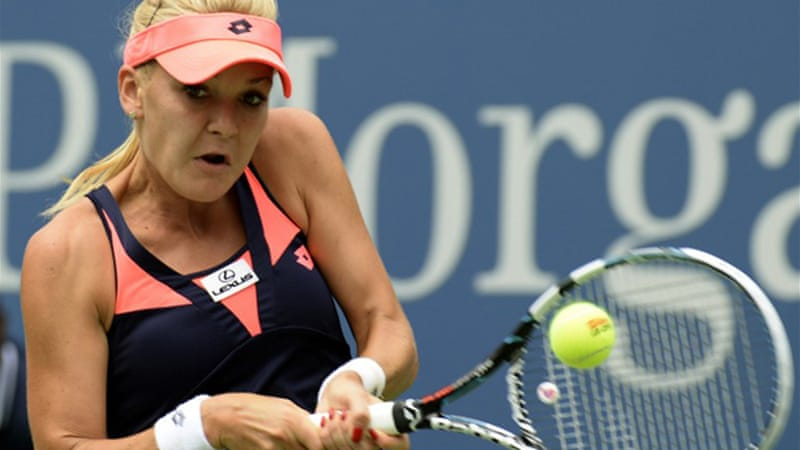 Radwanska needed only 63 minutes to improve to 28-2 in Grand Slam openers [AFP]
