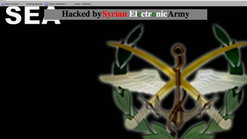 Various websites and social media accounts have been hacked by SEA, including the New York Times [File: Reuters]