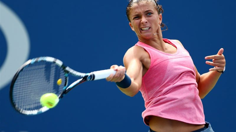 Errani was a semi-finalist at Flushing Meadows in 2012 [AFP]