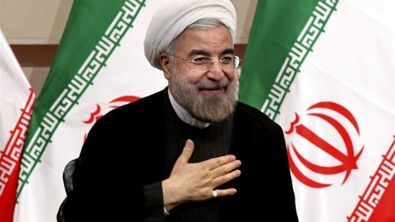 Though Rouhani represents progress, there are severe limitations to what he can do, says Dabashi [AP]