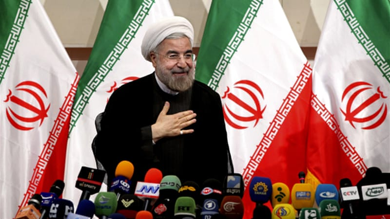 The UN report comes almost three months after President Hassan Rouhani, a moderate, took office [File: AP]