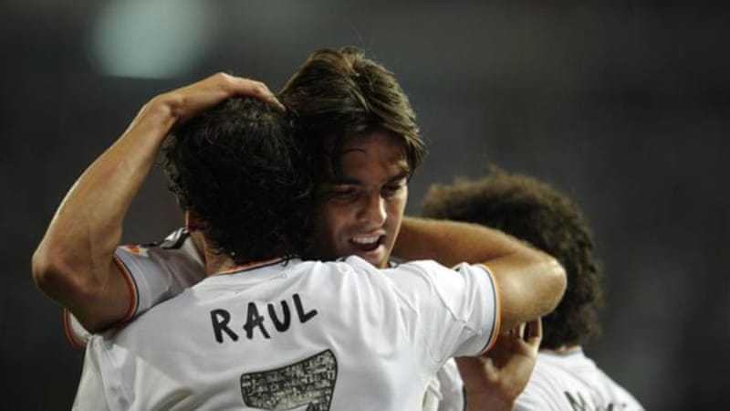 Kaka loss of form at the Spanish giants has seen him potentially miss out on a spot on Brazil's World Cup squad [AFP]