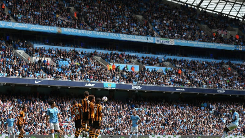 Yaya Toure's late free kick gave the 2012 champions an unconvincing 2-0 victory over Hull [GETTY]