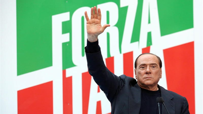 Silvio Berlusconi might soon have a successor on the left [EPA]