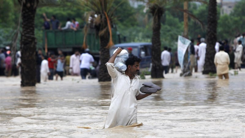 Authorities in Karachi said it would take more than two days to clear flooded markets and roads [Reuters]