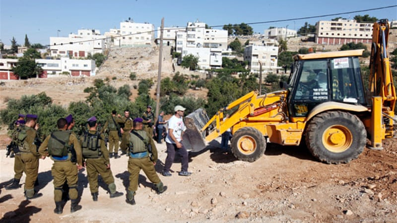 The expansion of illegal settlements may complicate US-sponsored Israeli-Palestinian peace talks [EPA]