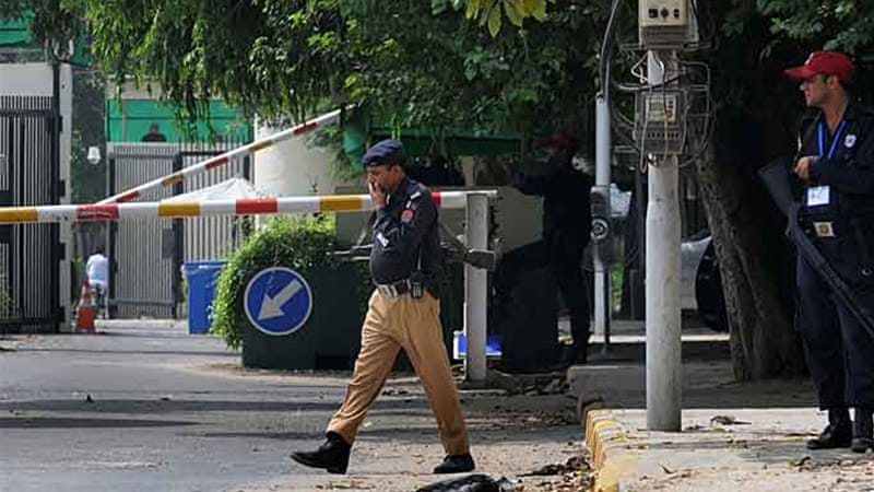 The shift of some consulate personnel from Lahore is a precautionary measure, US officials say [AFP]