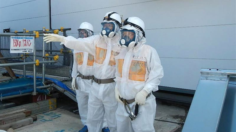There have been growing concerns over mistakes and radioactive leaks at the Fukushima nuclear plant [EPA]