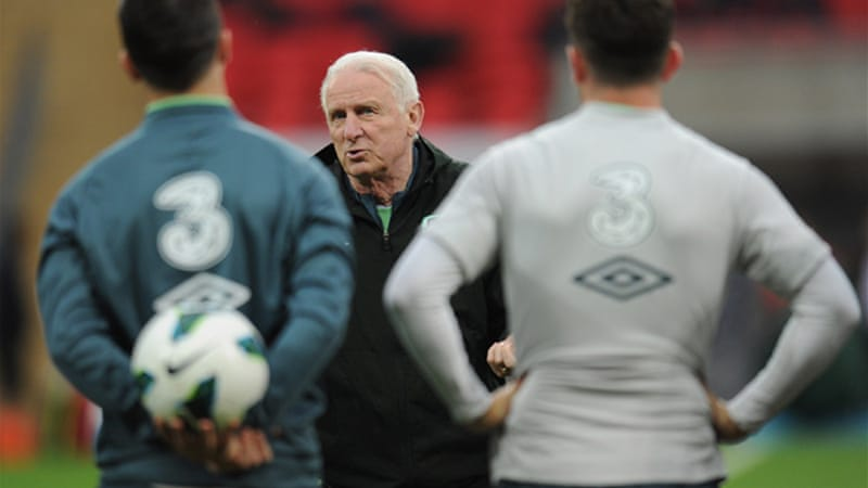 The 74-year old had successfully guided Ireland to the 2012 European Championships [GETTY]